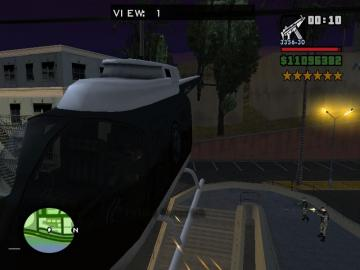 侠盗猎车手圣安地列斯抢警察直升机方法