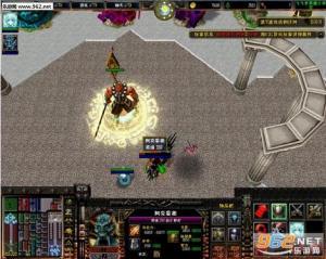 传奇霸业魔城迷宫地图